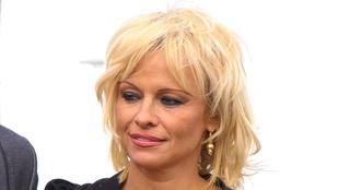 Pamela Anderson ribancos takarítónőnek öltözött