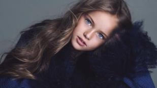 9 éves szupermodell karrierje osztja meg az embereket