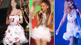 A szexi hópelyhes öltözékek a menők idén karácsonykor