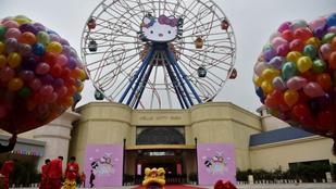 Megnyílt az első Hello Kitty vidámpark Kínában