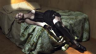 Madonna lila mellbimbók mellé adott interjút