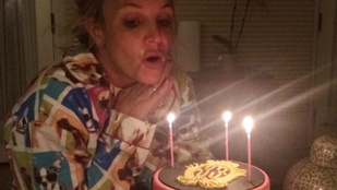 Britney Spears visszafogottan szülinapozott