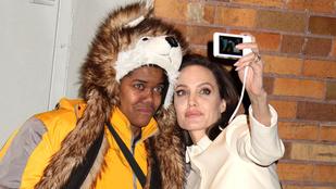 Angelina Jolie elképesztően jó fej volt rajongójával