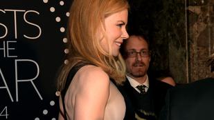 Eltűnt a botox, előkerült a mell: éljen Nicole Kidman