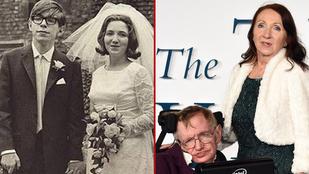 Stephen Hawking térben és időben is egyesült első feleségével