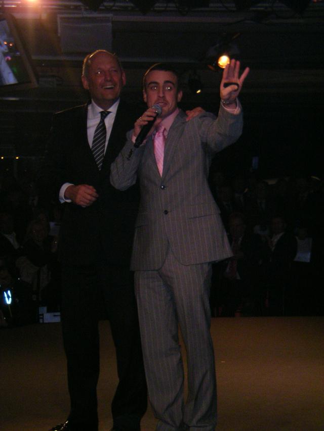 Dennis és Alonso 2007 januárjában