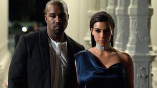 Kim Kardashian és Kanye West egyre hülyébb