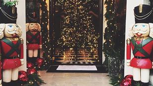Üljön le, mielőtt megnézi Kardashianék karácsonyi díszítését