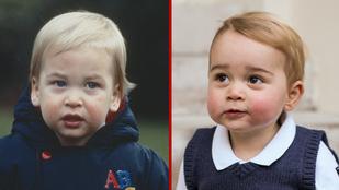 Vilmos herceg is legalább olyan menő baba volt, mint György