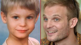 Ilyen cuki gyerek volt a ma 30 éves Puskás Peti
