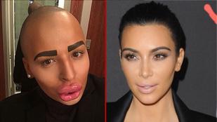 Ez a férfi 40 milliót fizetett, hogy úgy nézzen ki, mint Kardashian