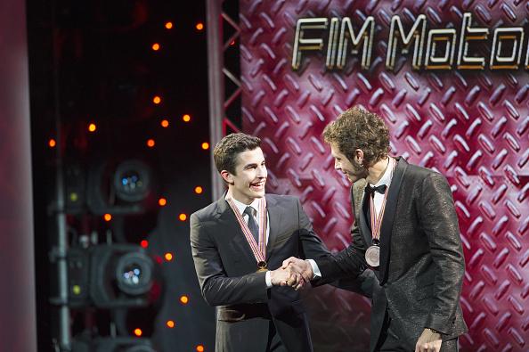 Marquez és Rossi az idei vb-díjátadón