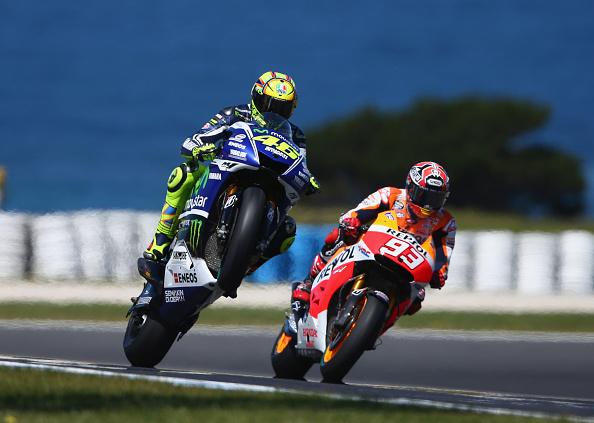Rossi és Marquez Ausztráliában