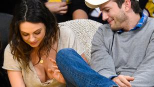 Mila Kunis nem takargatta a melleit