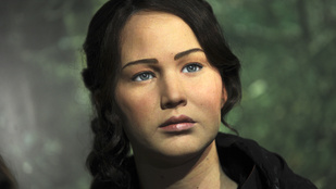 Jennifer Lawrence-ről meglepően jó viaszszobor készült