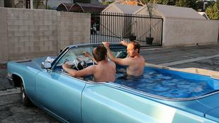 Ők a legnagyobb királyok: Cadillacben jacuzziznak