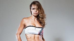 Ilyen dögös bombázó 40 évesen Timea Majorova
