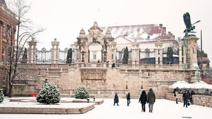 Budapest szokott havas is lenni