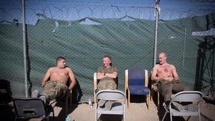 Afganisztánban lazázó katonák és más izompacsirták