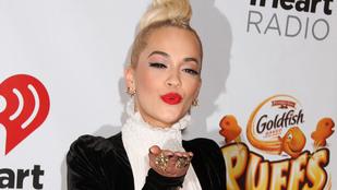 Rita Ora szexi télanyónak vetkőzött