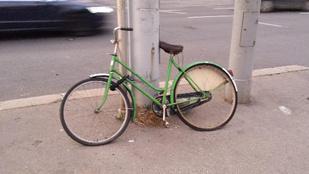 Valaki szánja meg ezt a szomorú biciklit!