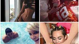 Bizarr és szexi: ilyenek a celebek újévi köszöntői