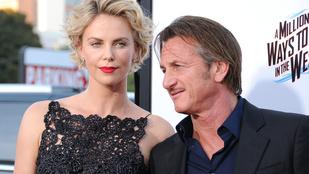 Charlize Theron és Sean Penn eljegyezték egymást