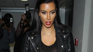 Kim Kardashian teljesen olyan, mint a lánya