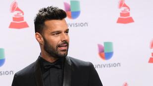 Ricky Martin a mennyből üzent
