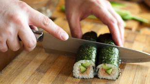 Ezért nem érdemes betörni egy sushi étterembe