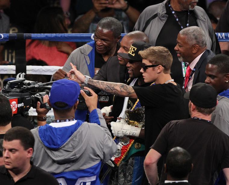 """Justin Bieber és Floyd """"Money"""" Mayweather most Prince Jackson legjobb barátai"""