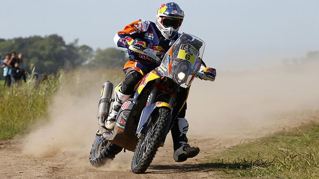 Sam Sunderland (KTM) nyerte a 2015-ös Dakar első szakaszát