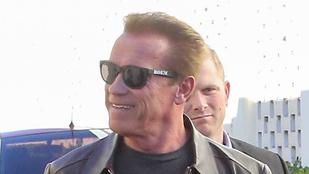 Arnold Schwarzenegger még mindig egy igazi férfi