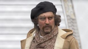 Johnny Depp felismerhetetlen lesz az új filmjében