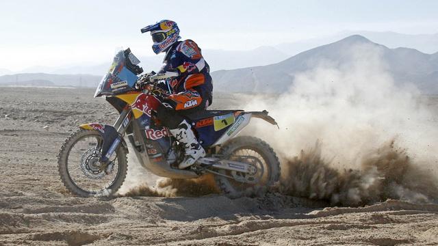 A KTM-es Marc Coma nyerte az ötödik etapot, az összesítésben a második helyen áll