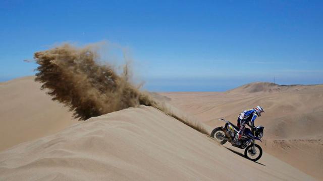 Olivier Pain (Yamaha) a 21. helyen áll. A kék csapat nem talál magára, nem tudnak a top10-be se betörni