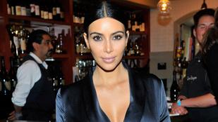 Kim Kardashian pizsamában bulizott 6ea6ca830d
