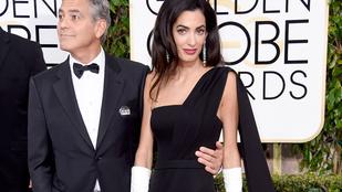 George Clooney élőben vallott szerelmet feleségének