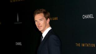 Az ugráló Benedict Cumberbatchnél nemigen lesz ma viccesebb