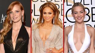 A legszexibb nők a Golden Globe-díjátadóról