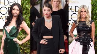 Szerencsétlen 13 - akikkel kiszúrt a stylist a Golden Globes előtt