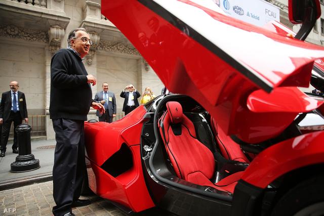 Marchionne és egy Ferrari - megvan az első sikere
