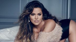 Nagyot pucsított az egyik Kardashian