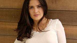 Salma Hayek nem engedi, hogy packázzanak vele!