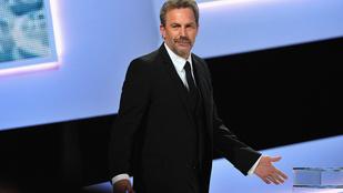 Kevin Costner nagyon félreérthetően fogalmazott a díjátadón