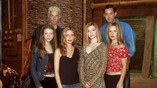 A Buffy, a vámpírok réme szereplői akkor és most