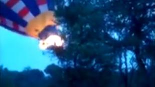 Horrorfelvétel egy hőlégballon-balesetről
