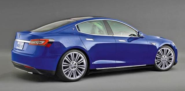 A Model 3 egy interneten terjedő, nem hivatalos látványterve