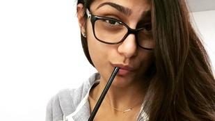 Nézze meg smink nélkül a legmenőbb pornóst, Mia Khalifát!