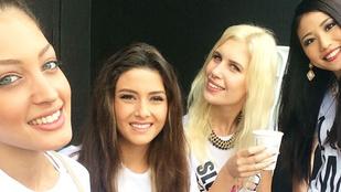 Miss Libanon és Miss Izrael együtt pózoltak, lett is botrány